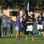 Bay Area Disc Girls Program: Ashley and her team Nightlock running a clinic (photo by K. Bergeron)