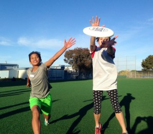 2014 youth girls Ultimate clinic