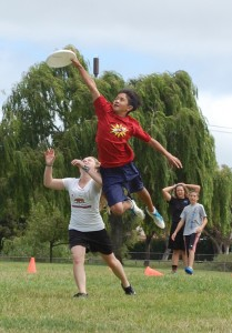 Colby Chuck getting UP at Bay Area Disc summer camp in 2011