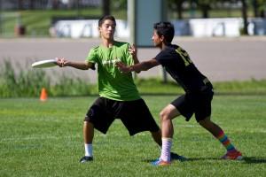 Jeremy Dolezal-Ng playing on the YCC U-16 Boys team, Aftershock